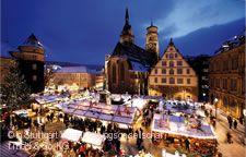 Weihnachtsstimmung auf dem Schillerplatz