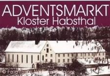 Adventsmarkt im Kloster Habsthal - Logo.