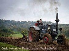 Alte Landmaschinen
