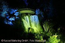 BergparkLeuchten und Beleuchtete Wasserspiele