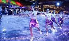 die United Angels bei der Eröffnung von City on Ice