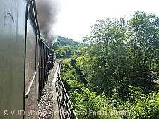 Fahrt mit der Schwäbischen Waldbahn