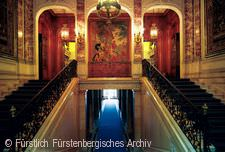 Schloss Donaueschingen Treppenhaus