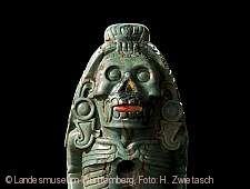 Götterfigur Mexiko 1500 - 1520 Detail_Querformat