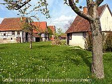 Hohenloher Freilandmuseum, Hohenloher Dorf