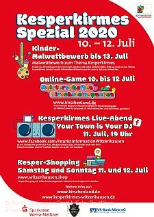 Kesperkirmes Spezial 10. bis 12. Juli 2020