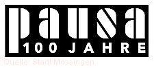 Logo 100 Jahre Pausa