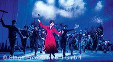 """Mary Poppins, Szenenmotiv """"Step in time""""."""