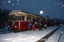 Nikolausfahrt mit der Härtsfeld-Museumsbahn