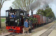 �chsle-Bahn, mit Gei�bock.