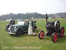Oldtimer- und Dampfmaschinenfest