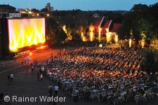 Ludwigsburger Sommernachts-Open-Air-Kino.