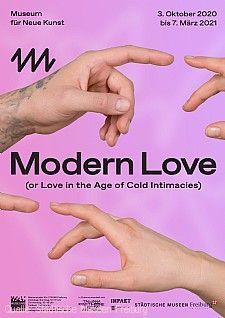 """Plakat """"Modern Love"""""""