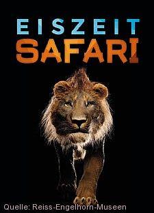 Plakatmotiv Eiszeit Safari