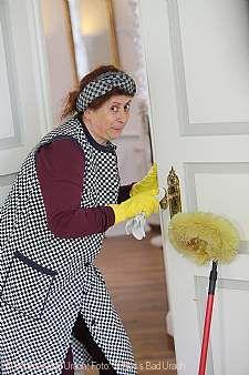 Rosi rast reinigend durch die Residenz Sonderführung für die ganze Familie