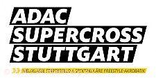 Schriftzug ADAC Supercross Stuttgart