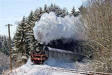Schwäbische Waldbahn im Winter