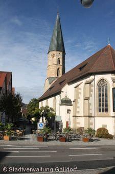Stadtkirche Gaildorf.