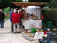 Stand am Naturparkmarkt
