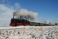 Winterdampffahrten �chsle-Bahn.