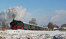 Winterdampffahrten Öchsle-Bahn