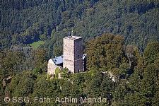 Yburg Baden-Baden, Bergfried